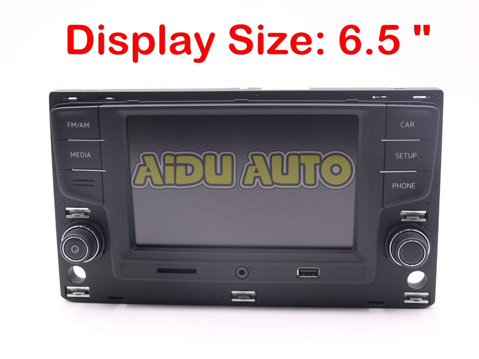 for vw golf 7 mk7 vii passat b8 6 5 mib radio system. Black Bedroom Furniture Sets. Home Design Ideas