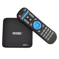 MECOOL M8S Pro+ TV Box 2.4GHz WiFi Support 4K x 2K Amlogic S905X Android 7.1 Smart TV box 1GB + 8G / 2GB + 16G