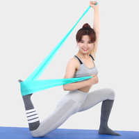 Sport Gesundheit Elastische Sport Latex Gürtel Pull Strap Kraft Arm Oberschenkel Festigkeit ejercicioTraining Strap Fitness Yoga Widerstand Bands