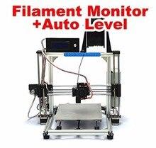 HICTOP Prusa I3 Алюминия 3D Принтер, 1.75 мм накаливания, auto level и нити управления
