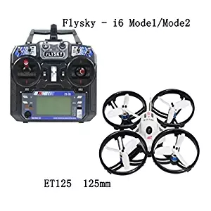 JMT ET125 Mini Racer Mini Aircraft Brushless FPV RC Helicopter RTF with FS-i6 RC Transmitter Controller Spare Parts jmt j510 510mm carbon fiber 4 axis foldable rack frame kit with high tripod for diy helicopter rc airplane aircraft spare parts