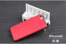 2018 кожаный чехол для iPhone 6 6S 6 Plus QI Беспроводной Зарядное устройство приемник Черный Обложка Телефон протектор Беспроводной зарядки Чехол сумки