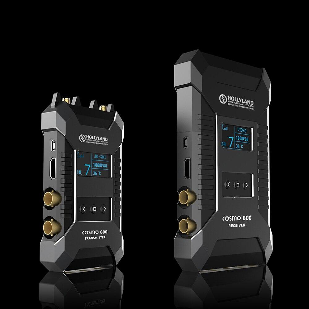 $1299 di contattarci HOLLYLAND COSMO 600FT Professionale HD Wireless Sistema di Trasmissione Video TX e RX 3G-SDI HDMI 1080