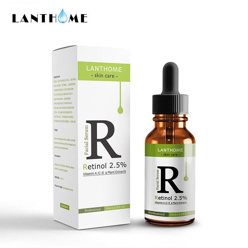Face Facial Serum Retinol 10ml Vitamin C Serum Firming Repair Skin Anti Wrinkle Anti Acne Serum Skin Care Whitening AntiAnging25