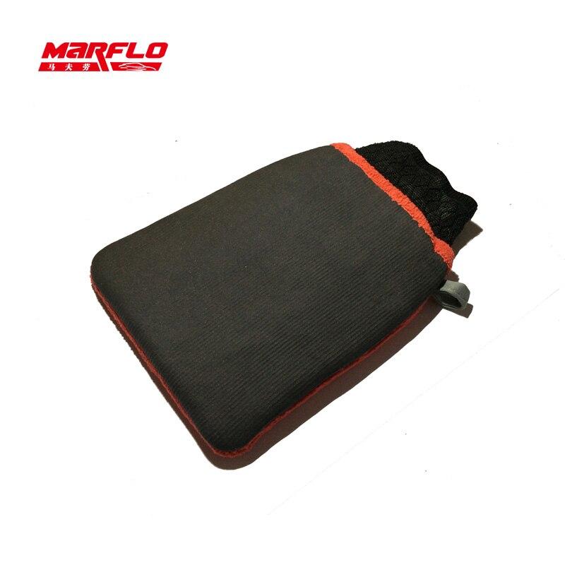 Marflo Magic Clay Mitt Pad Bar Cloth Auto Detailing  Microfiber Glove Towel Car Wash Car Styling Washing Tools By Brilliatech