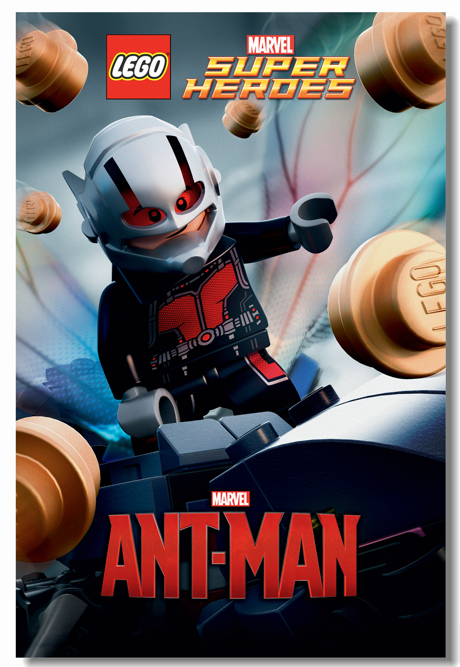 Custom Canvas Wall Decals Marvel Comics Poster Ant-Man Wall Sticker Office Mural Lego Superheroes Wallpaper Cafe Painting #0445#