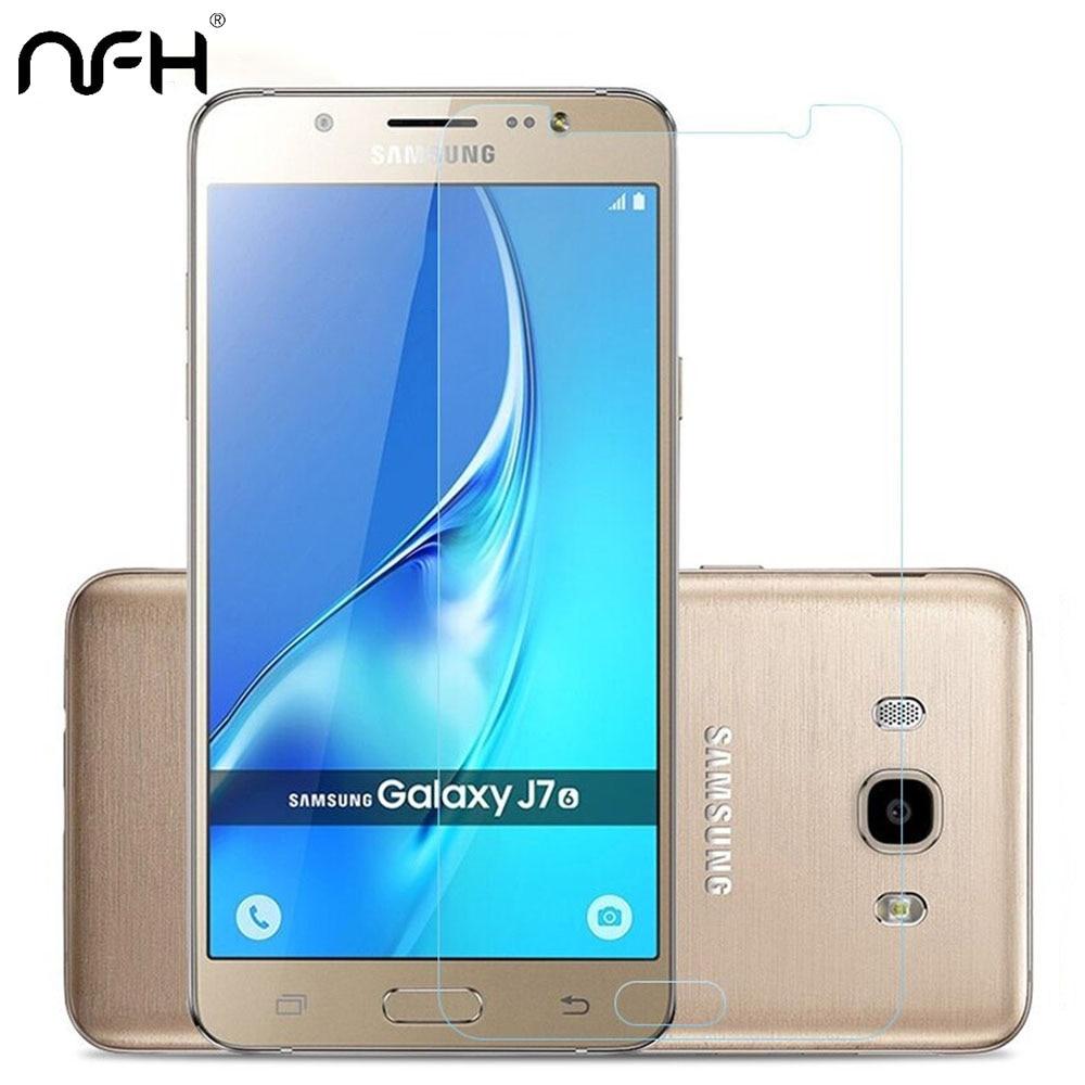 Protecteur décran Pour Samsung Galaxy Sur J5 J3 J1 2016 J120 J510 A3 A5 A72017 A30 A40 A50 A80 De Protection En Verre Trempé