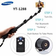 Original Brand Yunteng 1288 Selfie Sticks Handheld Monopod font b Phone b font Holder Bluetooth Shutter