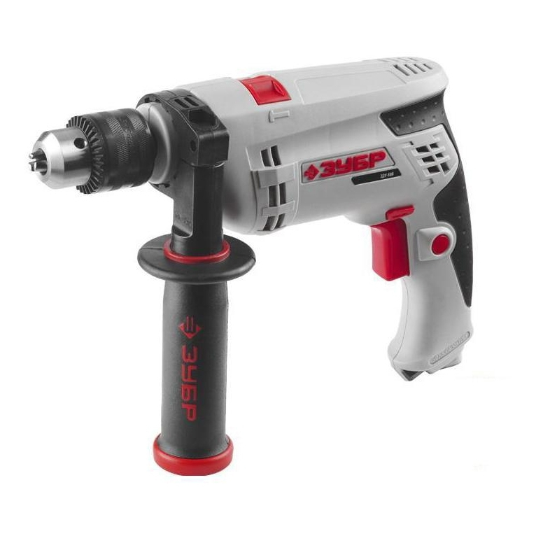 Impact drill BISON ЗДУ-680 ЭРКМ 2 (Power 680 W, 480000 strokes per minute, the reverse)