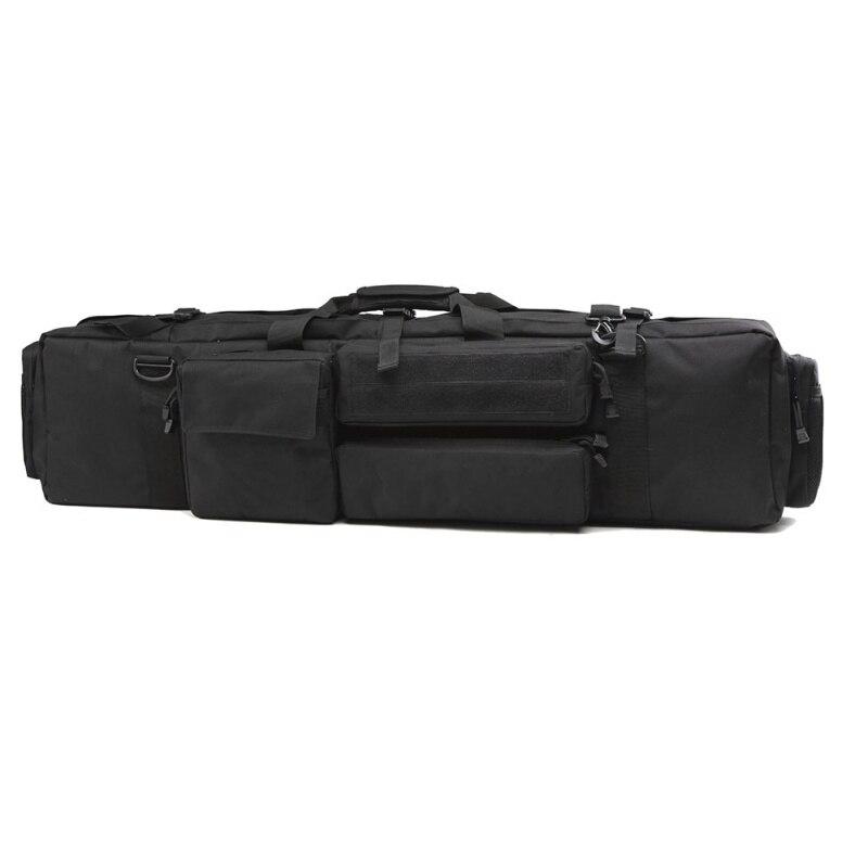 100 CM Polyester sac de chasse en plein Air équipement tactique armée chasse sac à dos Air pistolet carré pistolet sac - 2