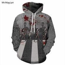 Cool 3D Print Skull Fighting Jackets Men/Women Hiphop Hoodies Boys Pullovers Gray Halloween Gala Sweatshirts Tracksuits Clothing