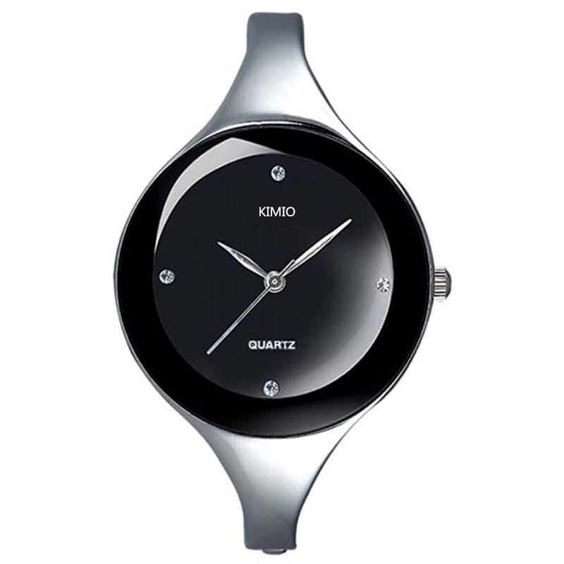 Prix pour 2017 nouveau kimio dames montres en acier inoxydable montre en cristal élégante étoile en cristal de diamant montre pour femmes montre femme