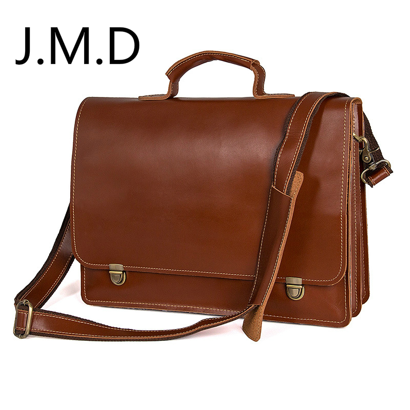 J.M.D New Top Layer Leather Mens Handbag Fashion Genuine Leather Shoulder Messenger Bag Briefcase 7379J.M.D New Top Layer Leather Mens Handbag Fashion Genuine Leather Shoulder Messenger Bag Briefcase 7379