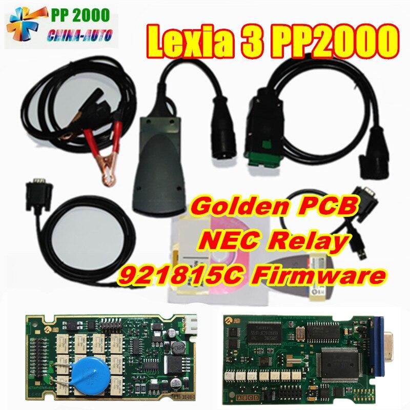 lexia3 PP2000 Diagnostic Tool with Diagbox V7.83 FW 921815C and Orignal Full Chip Full Function Lexia 3 PP2000 Lexia 3 Lexia-3