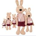 30 см ле сукре чучела плюшевые игрушки кролик куклы с маленькой день рождения валентина подарок высокое качество бесплатная доставка NT012B