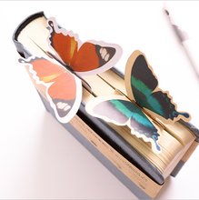 10PCS Bookmark Korean Edition Cute Butterfly Delicate Gift Animal Paper Ancient Style Long edition stereo gift