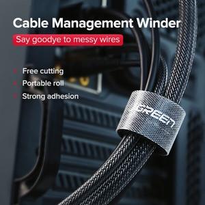 Image 5 - UgreenUgreen Кабельный органайзер Зажим для проволоки Зажим для наушников Держатель для мыши Проводник для кабеля Кабель HDMI для iPhone Samsung Кабель USB