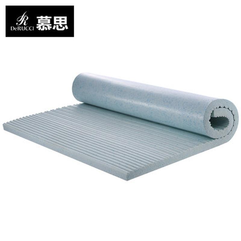Derucci Gel Latex Mattress Breathable Thinthickness 5CM Velvet Good Elastic Mattress  Keep The Constant Temperature Health Care natural latex mattress comfort revolution hydraluxe gel memory foam mattress