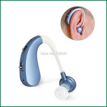 USB Rechargeable BTE Hearing Aid Ear Aids for the Elderly Mini Digital Wireless Cheap Ear Hearing Device for Hearing Impaired