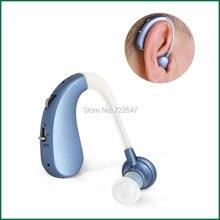 Usb recarregável bte aparelho auditivo próteses auditivas para os idosos mini digital sem fio barato ouvido dispositivo auditivo para deficientes auditivos