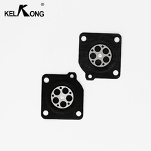 цена на KELKONG 2pcs/lot For ZAMA C1U Metering Diaphragm Gasket Parts For Chainsaw MS210 MS230 MS250 Chainsaw Carburetor Repair Kit