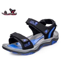 Xiagucoai Nueva Llegada Del Verano Sandalias de Los Hombres Low Top de Cuero Real Zapatos masculinos Sandalias de Playa Para Caminar Ocasional Más El Tamaño 39-45X1379 35