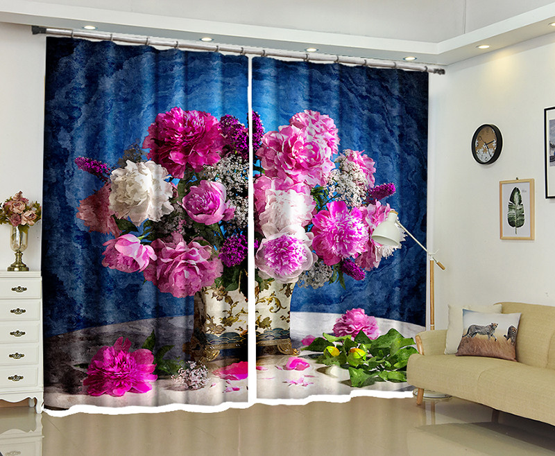 Hot Deal #a8ee9 - Bonsai 3d Curtains For Living Room Window ...