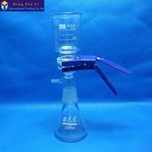 250ml Vacuum filtration apparatus, filter membran, Peralatan Sand-Core Filter