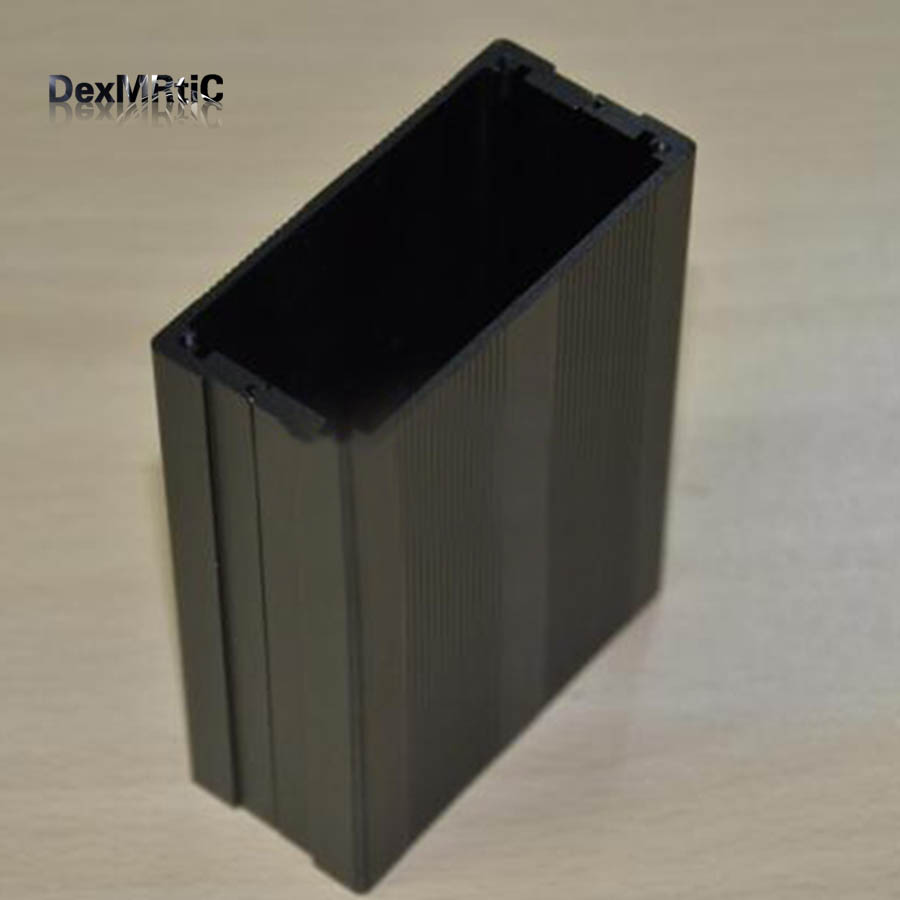Aluminum enclosure project box power shell die cast DIY 76x35x100mm NEW 3206 amplifier aluminum rounded chassis preamplifier dac amp case decoder tube amp enclosure box 320 76 250mm