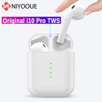 100% Original i10 TWS Mini Bluetooth Earphone 5.0 Mini Earphone Wireless Touch Control Earbuds For Huawei Xiaomi Samsung