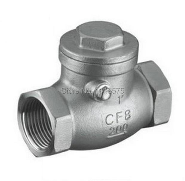 Check Valve Types >> Dn25 1 Authentic 304 321 316 Types Stainless Steel Thread