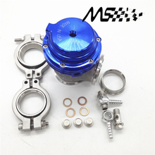 цена на BLUE Water cooler 44mm TL Wastegate external turbo red/blue/black With Flange/Hardware MV-R Water-cooled with logo