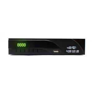 Image 2 - Newest DVB T2 terrestrial digital receiver supports youtube H.265 / HEVC DVB T h265 hevc dvb t2 hot Sale Europe with USB WIFI