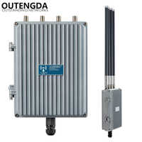 1200Mbps 48V PoE Outdoor AP CPE 802.11ac Dual Band 2.4G&5.8G Wireless Access Point WiFi Signal Booster with OMNI ANT