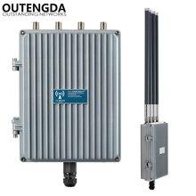 1200 Мбит/с 48 В POE Outdoor AP CPE 802.11ac Dual Band 2.4 г и 5.8 Г Беспроводной точка доступа Wi-Fi усилитель сигнала с Omni Ant