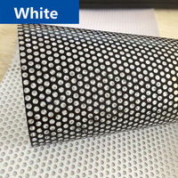 HOHOFILM 1.37x10m Roll White Perforated One Way Vision Window film Print Media Vinyl Car Window Privacy Film 54x 33ft
