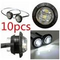 10x 12-24V LED Clearance Side Marker Light Indicator Lamp Truck Trailer Caravan