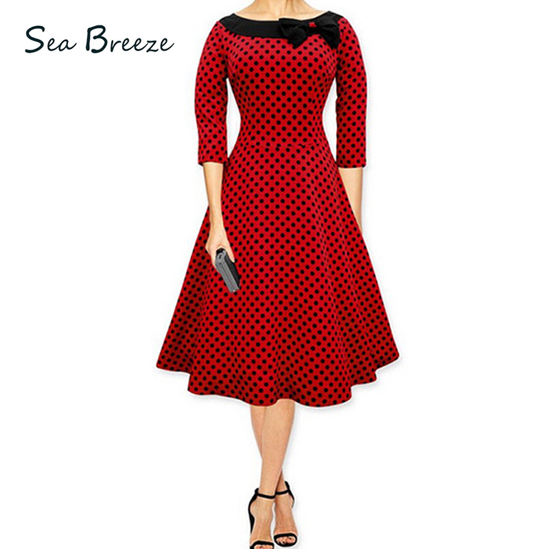 Sea Breeze Brand Autumn 2017 New Women Hot Sale Retro O