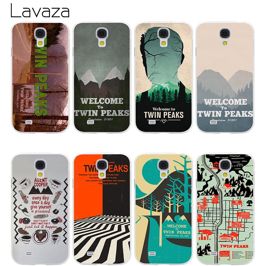 Lavaza Welcome To Twin Peaks Case for Samsung Galaxy S9 S8 S7 S6 S5 Edge Plus