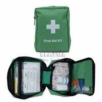 100-in-1 de La portátil de Emergencia Kits Verde Resistente al Agua Bolsa de Primeros Auxilios Para El Hogar Del Coche Del Recorrido Al Aire Libre Campamento de Emergencia Tratamiento de Heridas