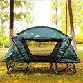 Tienda Turística tienda de campaña 1-2 persona Camping pesca plegable cama de recreación Al Aire Libre equipo de camping tiendas de campaña