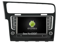 S160 Android 4 4 4 CAR GPS DVD Player FOR Volkswagen Golf 7 2013 2015 Car