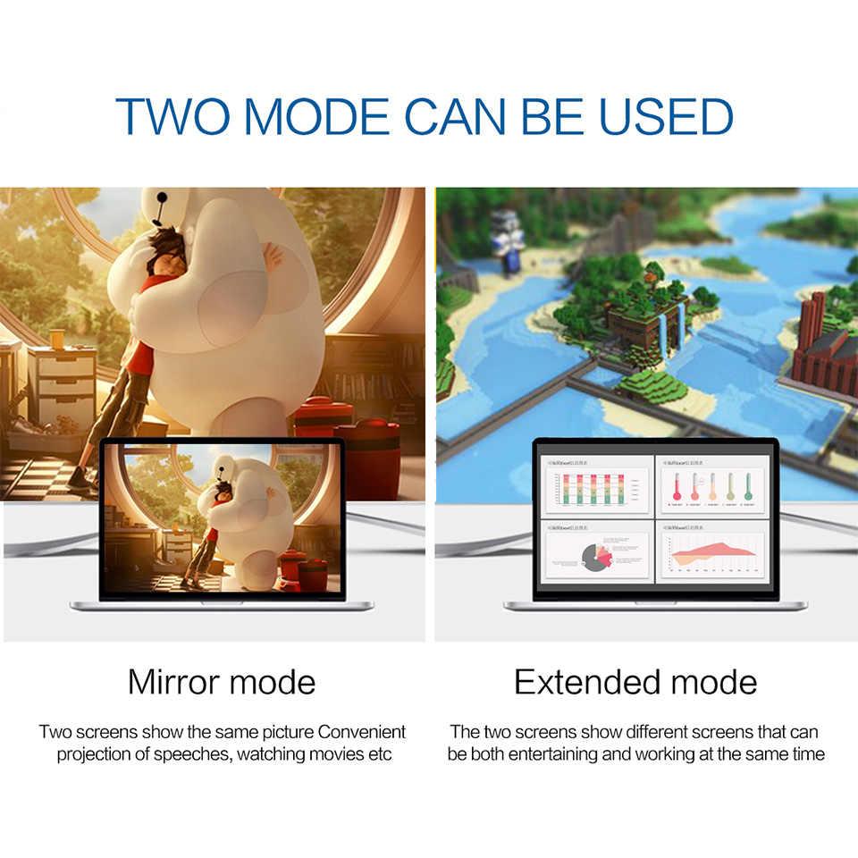 Qgeem usb tipo c 3.1 displayport cabo para macbook samsung s8 huawei companheiro 10 porta de exibição para usb-c adaptador thunderbolt