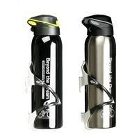 500 мл горный велосипед для езды на велосипеде бутылки для воды Двойная нержавеющая сталь термос чашка теплая вода чашка кувшин спортивный ч...