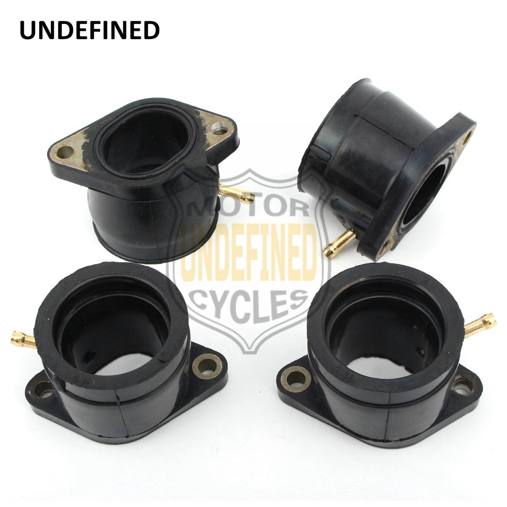 UNDEFINED For Yamaha YZF600R Thundercat 1995 2007 Motorcycle Carburetor Intake Pipe Adapter Manifold Interface Rubber Gum DDD17