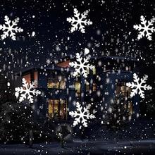 Projecteur Laser décoratif décoratif pour fête de nouvel an pour noël lumière flocon de neige IP65