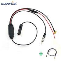 Superbat DAB Car Radio Antenna FM AM To DAB FM AM Aerial Amplifier Converter Splitter And