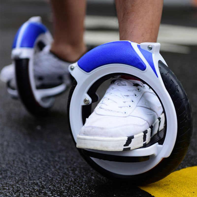 מסלול רולר סקייט מחזור קטנוע פריסטייל פעלולים קטנוע סקייט רולים למבוגרים כפול רולר הימור 2 גלגלי איזון Skatboard