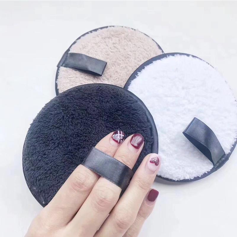 BellyLady 3 Pcs/Box Natural Facial Cleaning Makeup Remover Pad Not Stimulated Remover Makeup Sponge