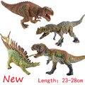 Горячая Парк Юрского Периода Динозавров Игрушки детские Лучший Подарок Реалистичным Красочный Tyrannosaurus Spinosaurus Классические Игрушки для Мальчиков и Девочек